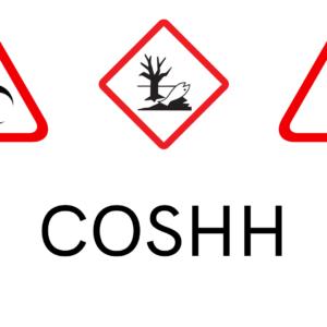 COSHH Warning Signs